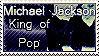 Michael Jackson Stamp 1 by NewspaperGeek