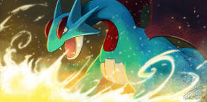 Shredding Claws and Fire - Salamence by ShawnnL
