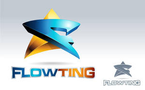 Flowting Logo by dorarpol
