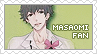 Request: Brothers Conflict - Masaomi Stamp by BeforeIDecay1996