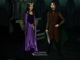 The Evil Queen and The Huntsman by Kailie2122