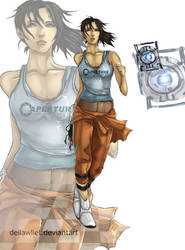 Chell by deilawliet