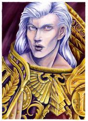 Fulgrim the Phoenician by AgentJericho