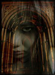 Hallway ghost by Metal-Night