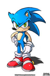 Sonic the Something by U-l-t-r-o-s