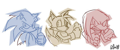 The Primary Color Guys by U-l-t-r-o-s