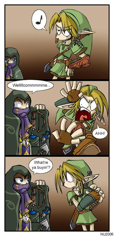 Merchant Zelda by U-l-t-r-o-s