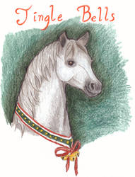 Holiday card 'Jingle Bells' by scamper