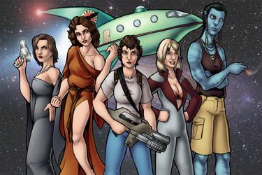 Sigourney Weaver: The Queen of Sci-Fi by TravisTheGeek