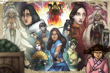 Avatar: Fight Like A Girl by TravisTheGeek
