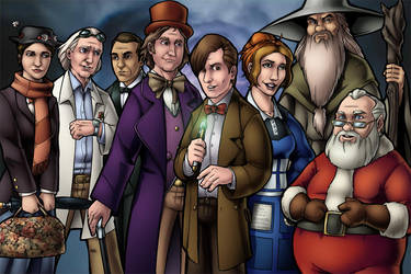 Doctor Who and the Secret Time Lords by TravisTheGeek