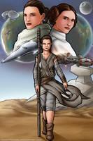Star Wars: Generations (Redux) by TravisTheGeek