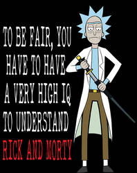 Rick Studied The Blade by TravisTheGeek