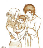 The Kazekage Family... by Natysan