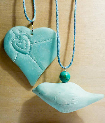 Ice blue ornaments by Noncsi28