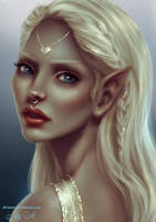 Elven Princess by Alrooney