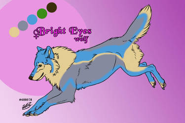 Bright Eyes (adoptable character) by greensmurfsdontlie