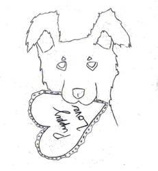 Puppy Love - sketch by greensmurfsdontlie