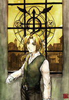 Edward Elric by Nazgullow