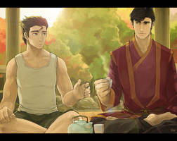 LoK - Of Tea And Comfort by Nazgullow