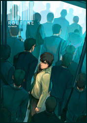 Routine - Artwork by Nazgullow