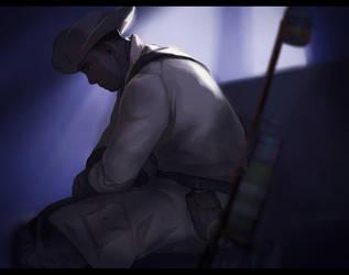 Fallout 4 - Preston Garvey by Nazgullow