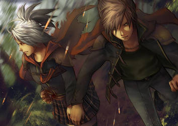 Final Fantasy Type-0 - Mischiefinmink by Nazgullow