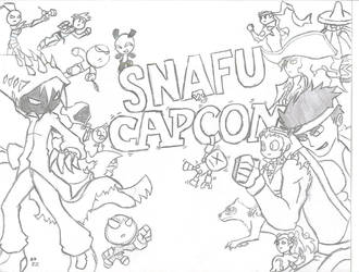 SNAFU vs CAPCOM by bleedkid