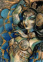Modern Orientalism - ACEO by sphinxmuse