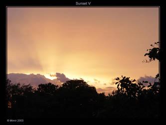 Sunset V by mimir