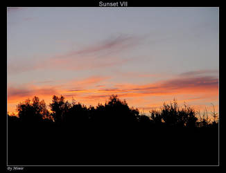 Sunset VII by mimir