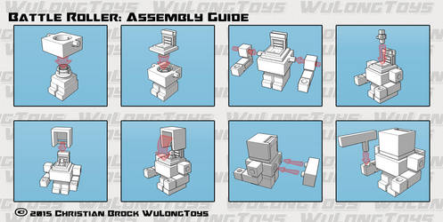 Battle Roller: Roller Assembly Guide by wulongti