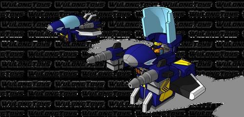 Battle Roller: Variable Roller Maverick by wulongti