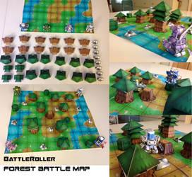 BattleRoller: Forest Battle Map by wulongti