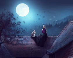 Full Moon by Tairix