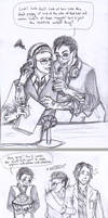 Night Vale Doodledump (04.2014) Kevin-centric by TyrineCarver