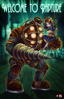 Big Daddy/Little Sister VER2014 by TyrineCarver