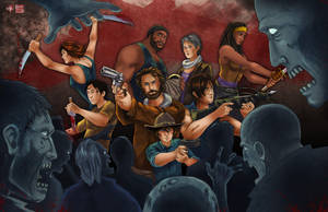 Walking Dead by TyrineCarver