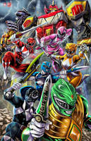 Power Rangers 2017 by TyrineCarver