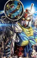 Gundam by TyrineCarver