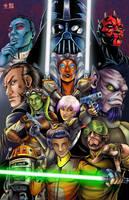 Star Wars Rebels by TyrineCarver