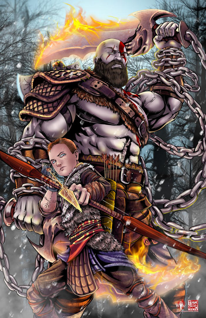 God of War by TyrineCarver