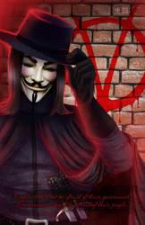 V for Vendetta by TyrineCarver