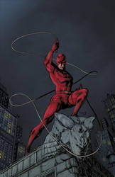 DAREDEVIL Colors by GeorgeMRL