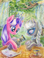Diamond and Silver by Maytee
