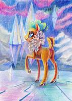 Velvet Reindeer by Maytee