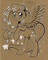Fluttershy. sketch by Maytee