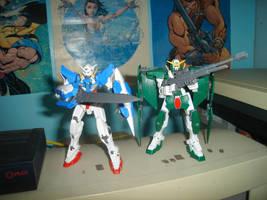 Gundam 00 Model Kit by ernestj23