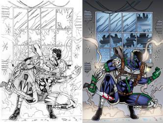 Agent Solo #1 Page 5 COLORS by ernestj23