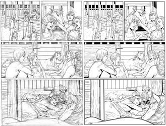 Wendy Adventure Page 10 INK by ernestj23